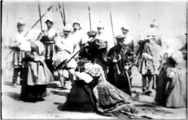 The Execution of Mary Quenn of Scots