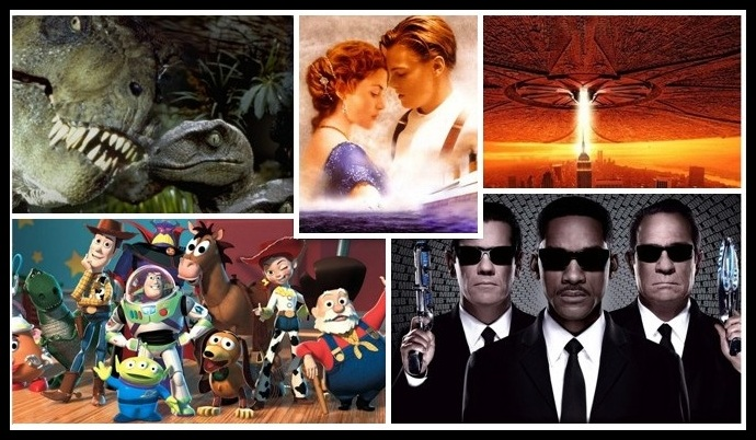 Hollywood Movies in 90s