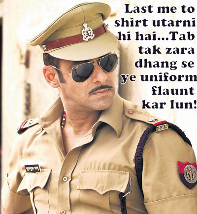 Salman In Dabangg