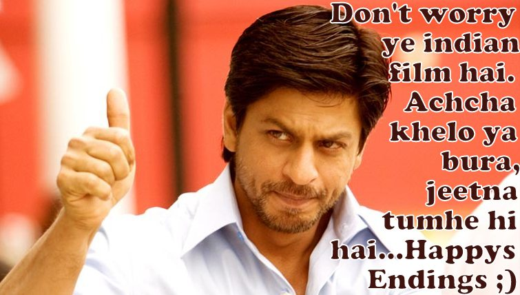 Shahrukh in Chak De