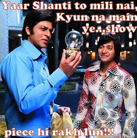 Shahrukh n Shreyas in OSO