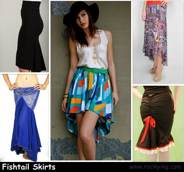Fishtail Skirt